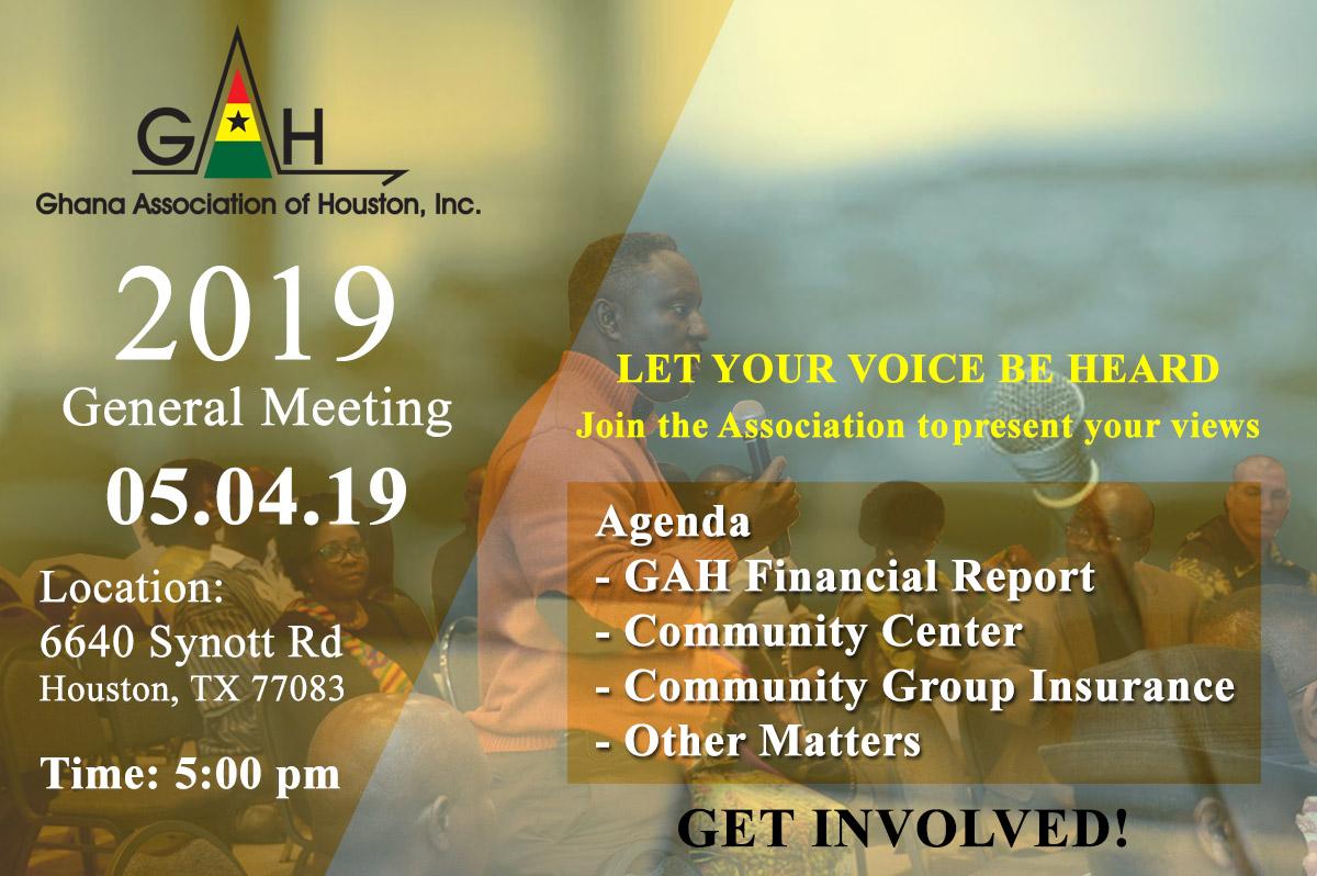 GAH meeting 2019